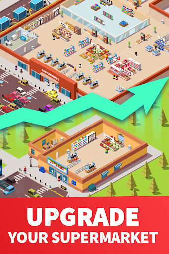 Idle Supermarket Tycoon - Tiny Shop Game 2.2.8 screenshots 4