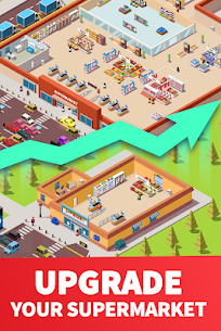 Idle Supermarket Tycoon MOD APK 2.2.6 [Unlimited Money] 4