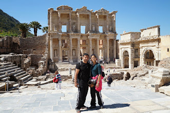 Photo: library of Celsus