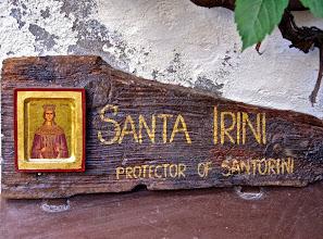 Photo: Святая Ирина - покровительница острова
