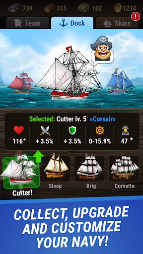 Pirates & Puzzles - PVP League 1.0.2 screenshots 2
