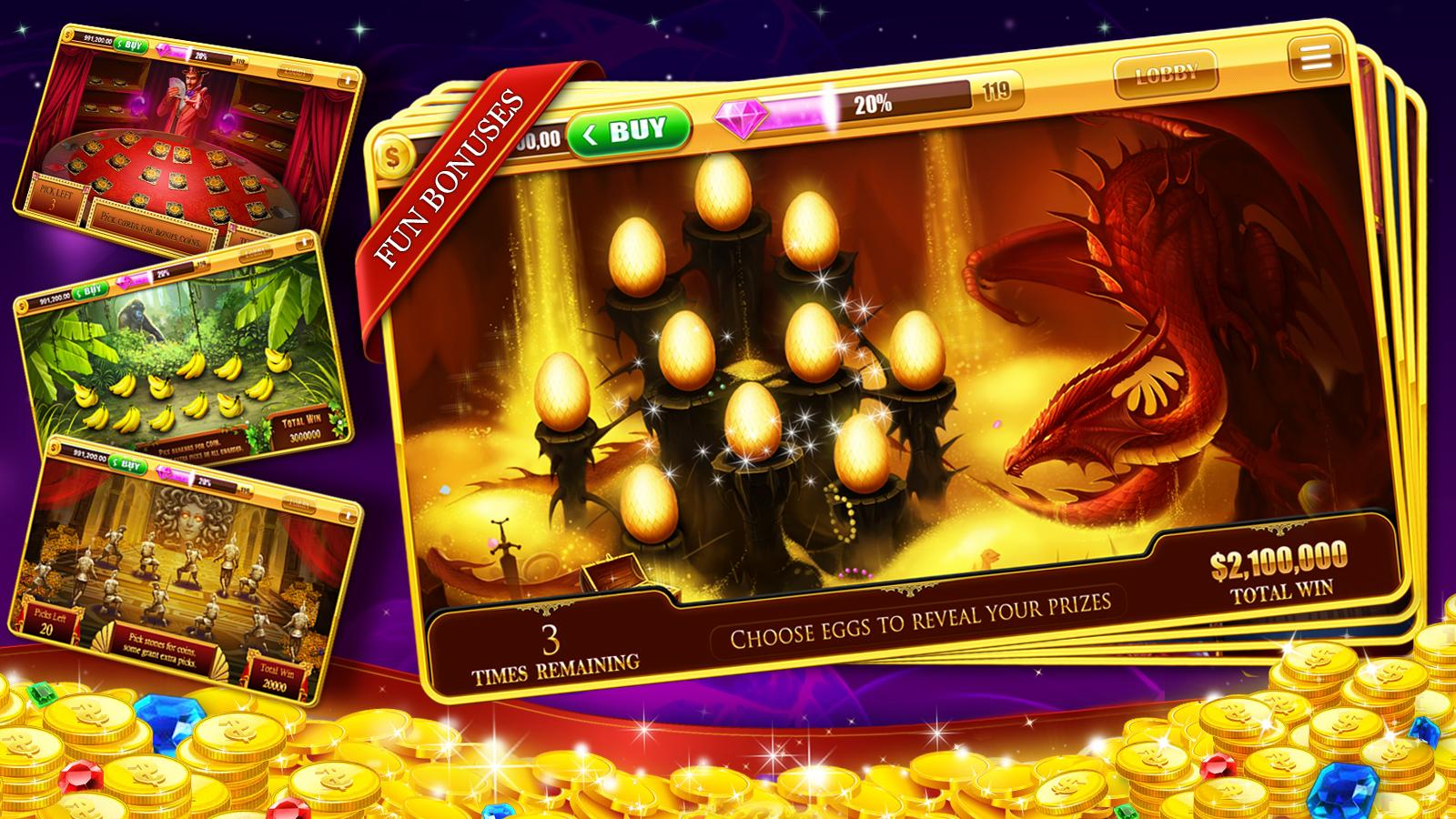 free apps casino slots
