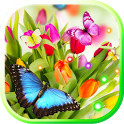 Springs Tulips live wallpaper icon