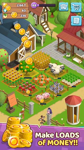 Télécharger Idle Farm Game: Idle Clicker apk mod screenshots 2