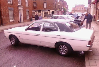 Photo: The best selling car of the mid 70's for several years,  the Cortina now rarely ever seen.