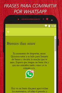 Buenos Dias Buenos Dias Mi Amor Frases Gratis Aplicații Pe