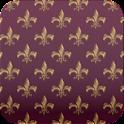 fleur de lis wallpaper ver5 icon