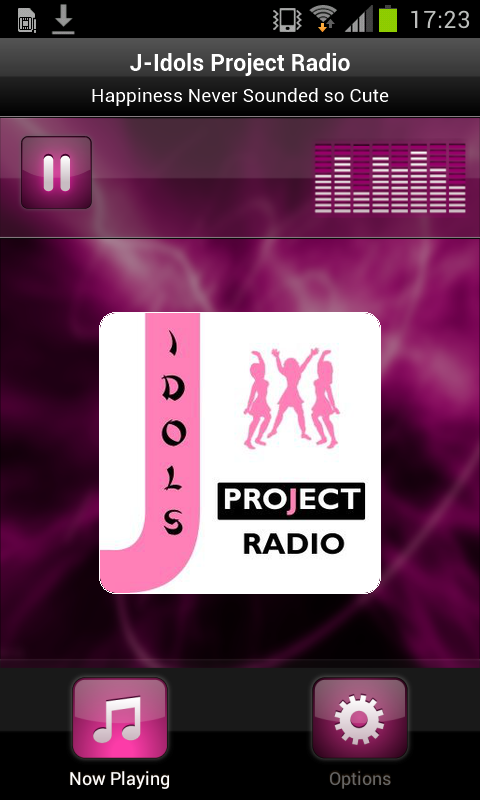 J-Idols Project Radio- screenshot