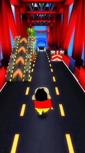 Super Shinchan Boy Subway Run screenshot 2