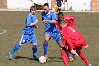 Photo: 06/04/13 v Oadby Town (United Counties League Division 1) 0-3 - contributed by Rob Campion