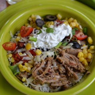 Mexican Pork & Rice Bowl
