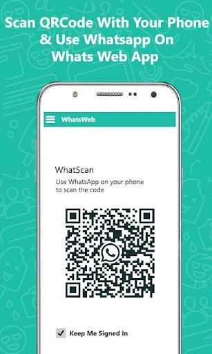 Whatz Scan: QR Whats Web Chat screenshots 2