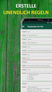 AutoResponder für WA - Automatische Antwort Screenshot