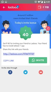 Ladooo – Get Free Recharge App Screenshot