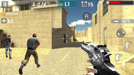 Pistola Assalto Guerra Atirar Mod