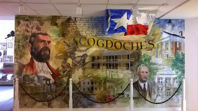 Photo: Nacogdoches mural visitor center