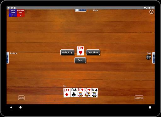 Euchre Card Classic 1.1 screenshots 10