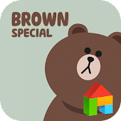 Brown.S LINE Launcher theme