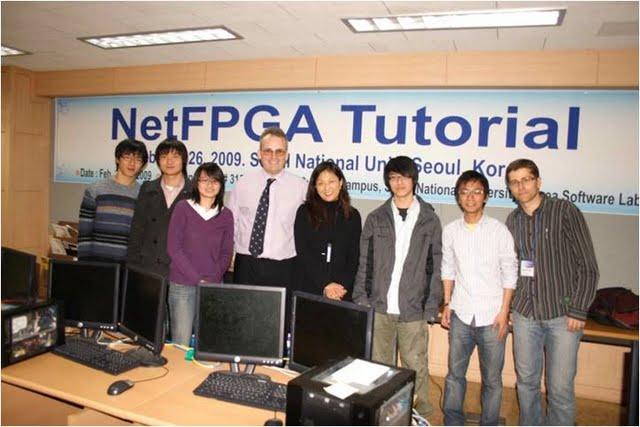 NetFPGA Tutorial @ Kaist