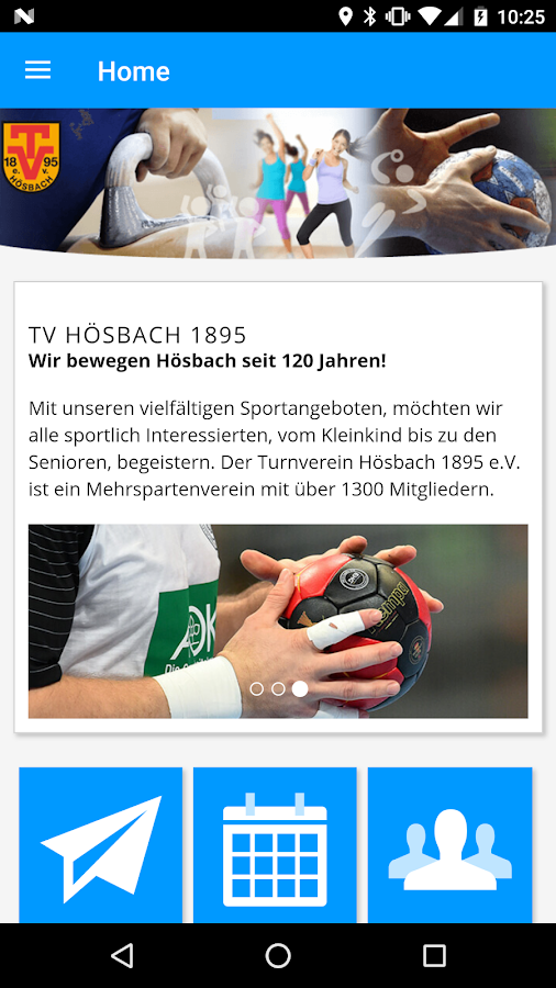 TV Hösbach 1895- screenshot