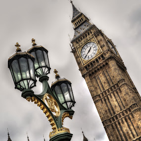 Big Ben by Jade Newman - Buildings & Architecture Public & Historical ( london, hdr, westminster, big ben )
