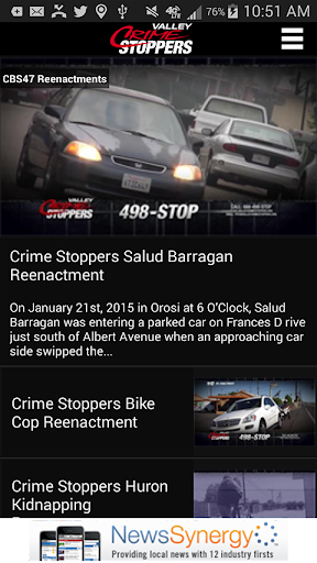 Valley Crime Stoppers