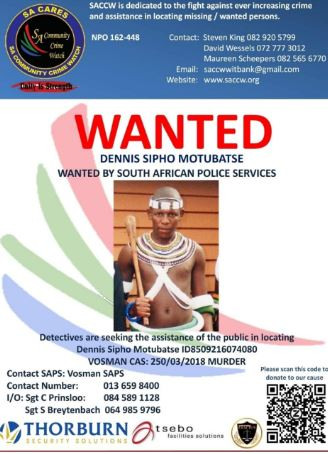 Dennis Motubatse, who was arrested in connection with the murder of his employer, Aletha Maree, has gone missing after being granted bail.