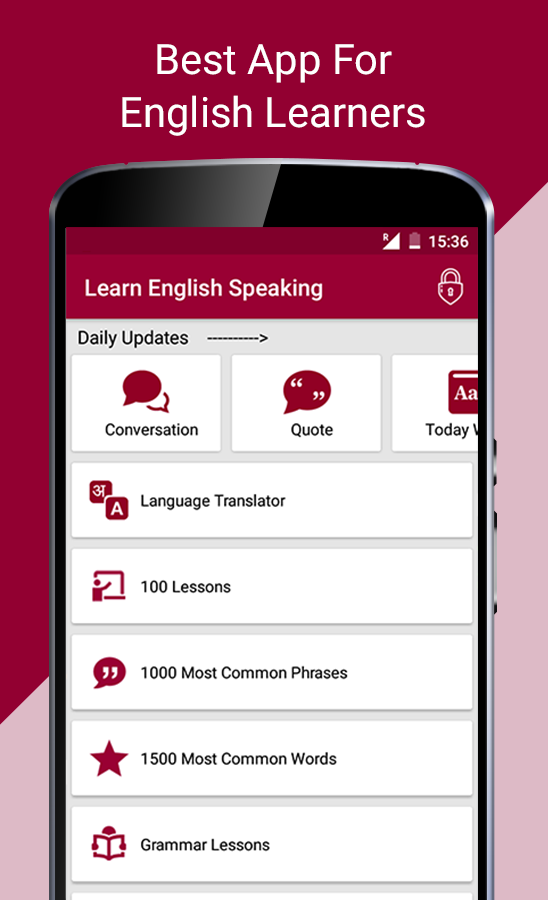 Learn English Speaking, Conversation, Vocabulary- screenshot