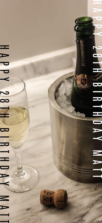 Matt's 28th Birthday - Birthday Template