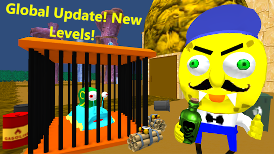 Sponge Neighbor Escape 3D App Download For Android and iPhone 1