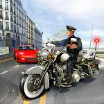 Police Bike - Criminal Arrest Icon