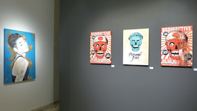 Photo: Galerie 30Works; Sushi Connection; Solo Show MITTENIMWALD; Mei Ling II & Radioactive