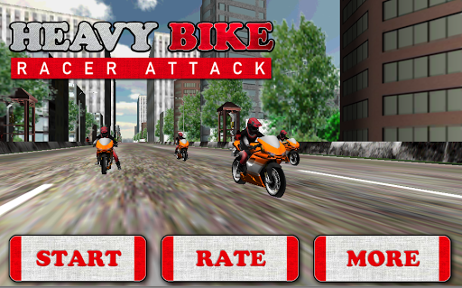 Heavy Bike Racer Attack
