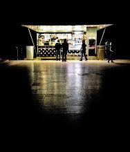Photo: Strangers in the night