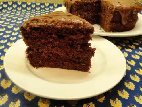 "Jan's Grandmothers Puerto Rican Chocolate Cake and Frosting ""Cinnamon really spices up the..."