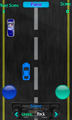 Wrong direction:city driver 2D
