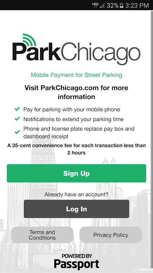 ParkChicago- screenshot