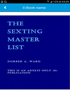 The Sexting Master List - náhled