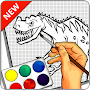 Learn to draw Dinosaurs APK icon