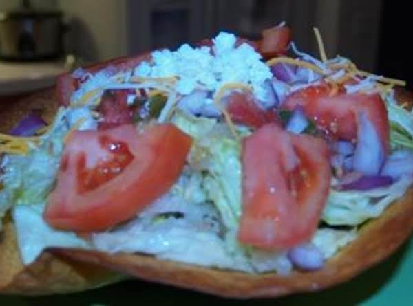 Yes You Can Eat The Bowl Taco Salad Recipe