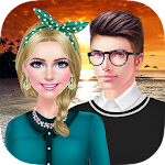 Date Night Salon: Sunset Trip Apk