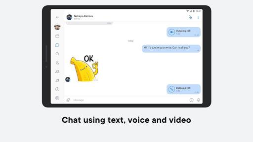 VK u2014 live chatting & free calls 6.11.1 Screenshots 6