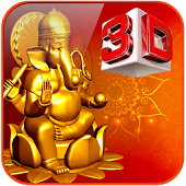 3D Ganesh Live Wallpaper
