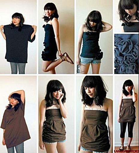 DIYのファッションの服のデザイン