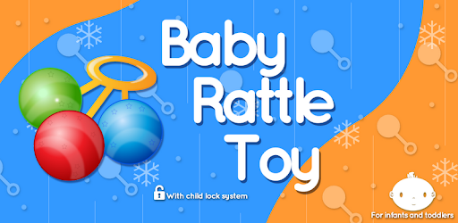 Free Rattle Toy to calm or amuse your baby. Comes with Child Lock and Ads Free.