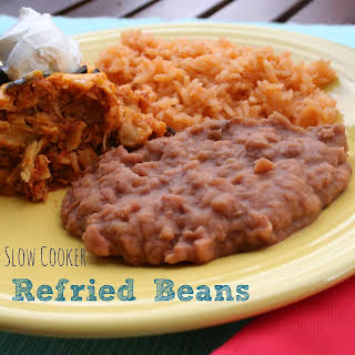 Slow Cooker Refried Beans.