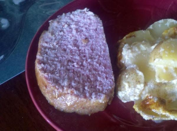 Ham Loaf With Brown Sugar Glaze Recipe