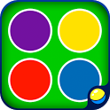 Learning colors for kids icon