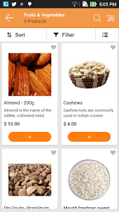 EMC Grocery App- screenshot thumbnail