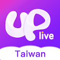 Uplive Taiwan-Chat, Broadcast & Meet New People icon